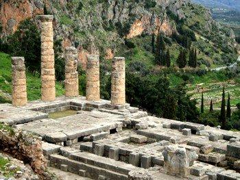 Orale von Deplhi - Apollon-Tempel